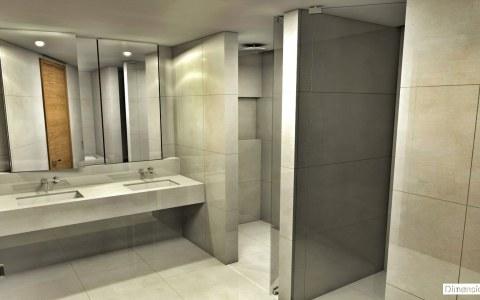 Salle de bains en marbre Creme Marfil