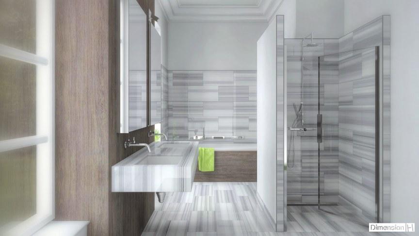 dimension h salle de bains en marbre. Black Bedroom Furniture Sets. Home Design Ideas
