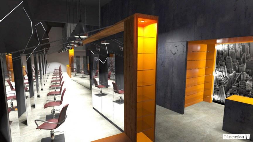 Salon De Coiffure Moderne : Dimension h salon de coiffure vannes