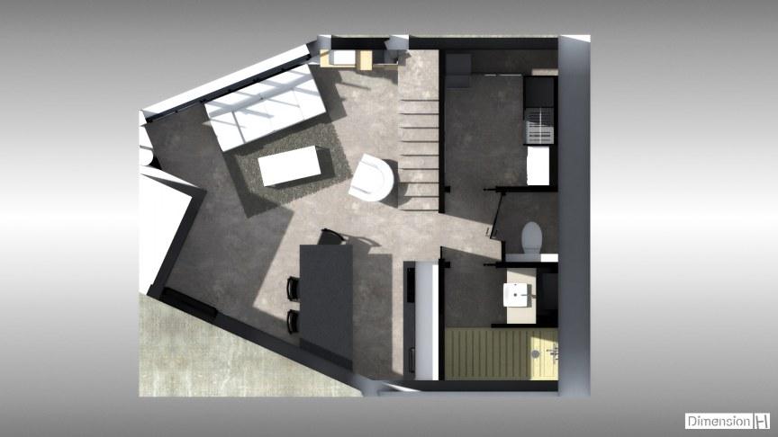 Appartement de 32 m² au sol Rdc